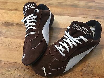 Sparco Puma Driving / Racing shoes UK size 5.5 / Hardly Used.