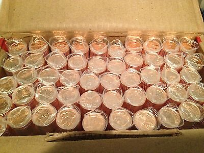 BU roll of 2012 Canadian Pennies