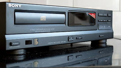 Sony CDP-M18 Tube (Valve) CD Player - TDA 1543 in NOS mode