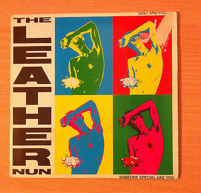 """THE LEATHER NUN  """" Lost And Found """" - Vinyl single 7"""" - Wire  WRS 020 -  1987 UK"""