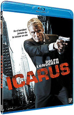 Blu Ray  //   ICARUS   //  Dolph Lundgren  /  NEUF cellophané