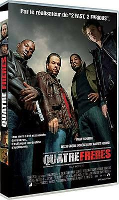 DVD // QUATRE FRÈRES //  M. Wahlberg - T. Gibson - A. Benjamin / NEUF cellophané