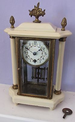 Nice Small French Four Glass Clock