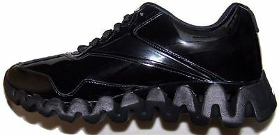 Reebok Zig Energy Patent Leather Referee Shoes, size 12D