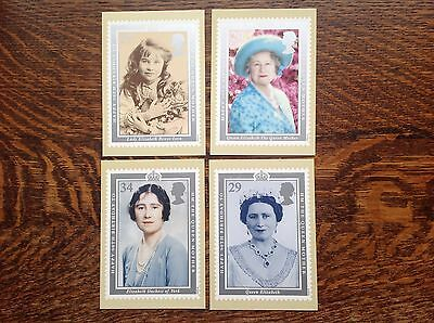 PHQ 128 Queen Mother Birthday 1990 Set Of 4 Mint