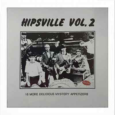 "VA. HIPSVILLE # 2 # LP - ""More Delicious Mystery Appetizers"" - Wicked 60s Garage"