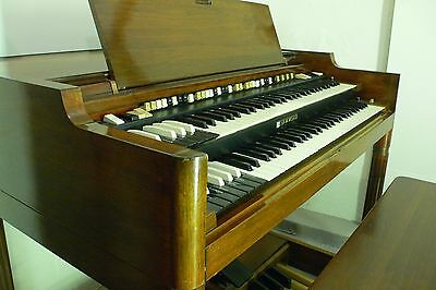 vintage HAMMOND B3000 organ & Leslie 720 speaker like B3, stool pedals manual