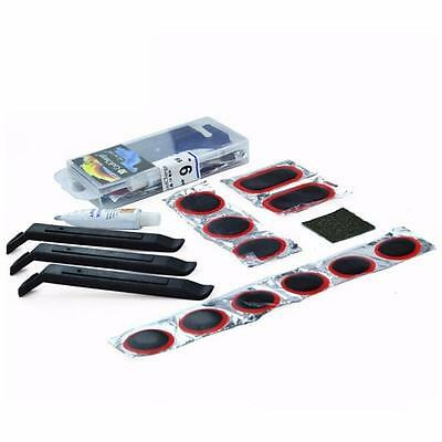 MTB Bike Bicycle Tyre Glue Patch Lever Puncture Repair Kits Rubber Tool Popular