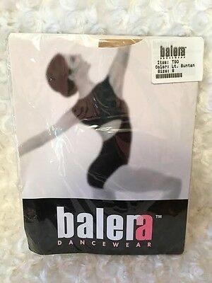 Balera Adult Convertible Tights - Womens Small - New In Package - Lt. Suntan