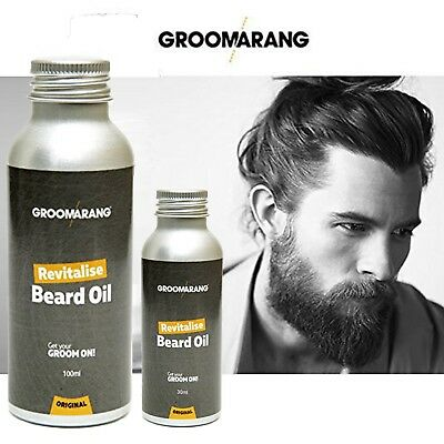 Groomarang Beard Oil  Moisturising & Conditioning 100% Natural & Organic Product