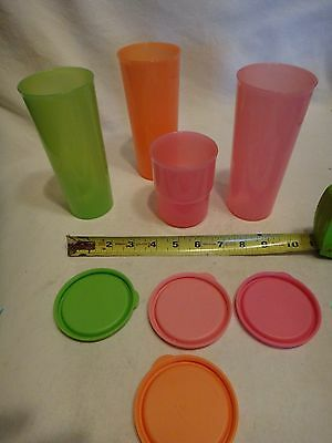 Tupperware Tumblers with Seals