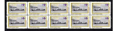 Dilga Adelaide Steamship Co Strip Of 10 Mint Stamps