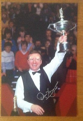 10x8 Hand Signed Photograph of Dennis Taylor