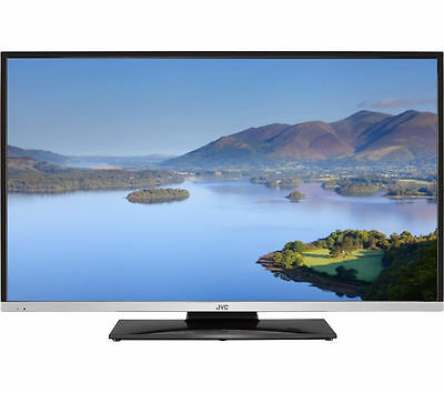 """JVC LT-40C755 SMART 40"""" WIFI FULL HD TV with Built-in DVD Player catch up"""