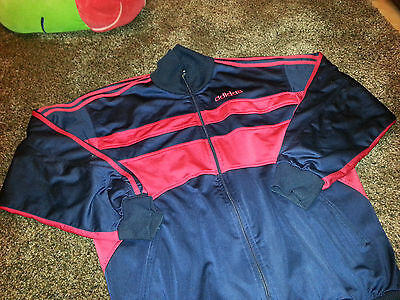 adidas vintage jacke M jacket made Indonesia 80s tracksuit tracktop polyester