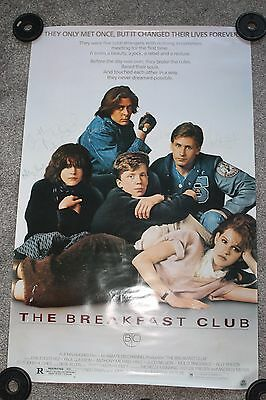 Breakfast Club (1985 Repro Poster Signed By 5 Cast Members)
