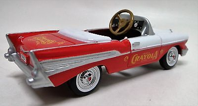 1957 Chevy Pedal Car Vintage Sport Hot Rod Midget Metal Show Model 1955