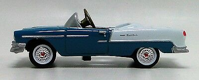1955 Chevy Pedal Car Vintage Sport Hot Rod Midget Metal Show Model 1957