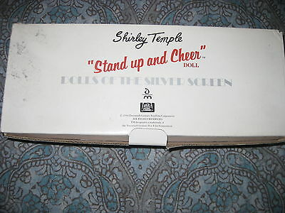 Shirley Temple Danbury Mint Stand Up And Cheer Doll