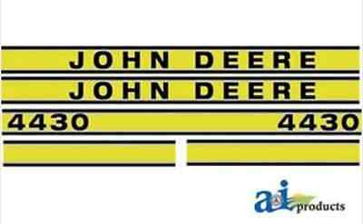 John Deere 4430 Tractor Decal Set jd419 Hood