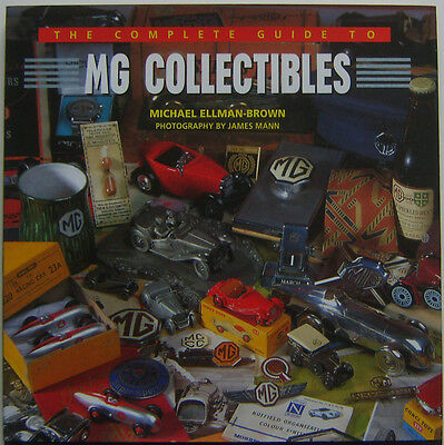 MG Collectables TC TD TF MGA MGB MGC Complete Guide brochures toys badges art +