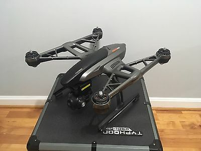 Yuneec Typhoon Q500 4K Quadcopter Drone + All Accessories and 2 Batteries