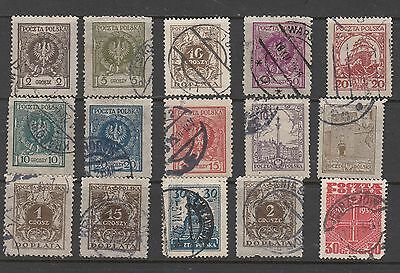 POLAND  STAMPS USED  .Rfno.111.
