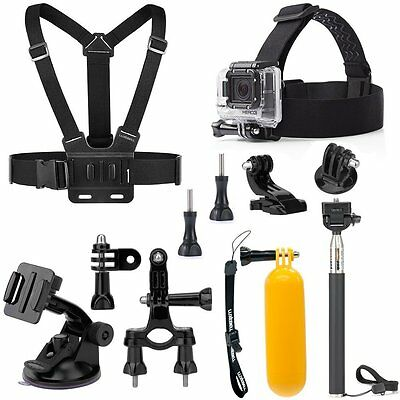 LuxeBell Kit d'Accessoires Sports Loisir pour GoPro NEUF
