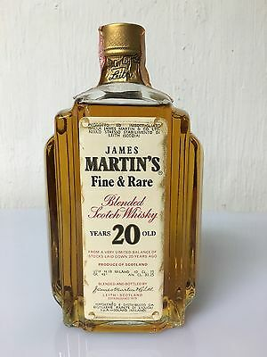 James Martin's Fine & Rare Blended Scotch Whisky 20 Years Old 75cl 43% Vintage