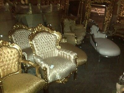 sale french new carved gold arm chair