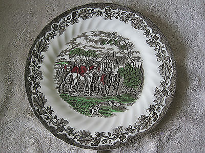 Myott  Pottery Staffordshire Ware Country Life Dinner Plate 1982
