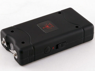 Stun Gun Rechargeable Self Defense 110 Billion Volt LED Llight -  fits in Pocket