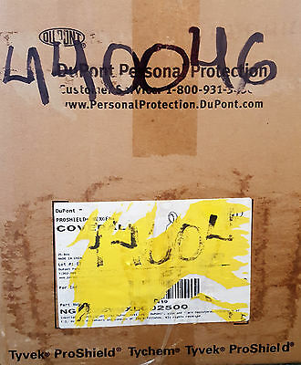 Disposable Coverall DuPont Proshield Nexgen Hood, Boots,  XL, Case of 25