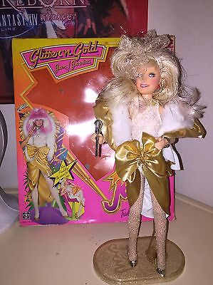 Jem And The Holograms Glitter And Gold Jem W/box Hasbro