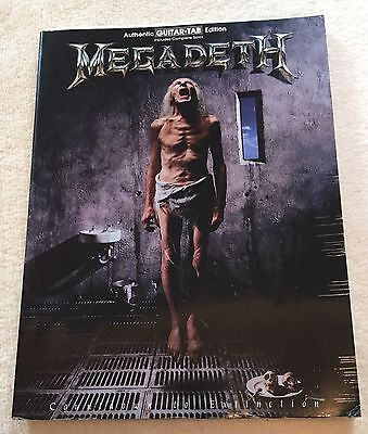 Megadeth Countdown To Extinction Guitar Music Book