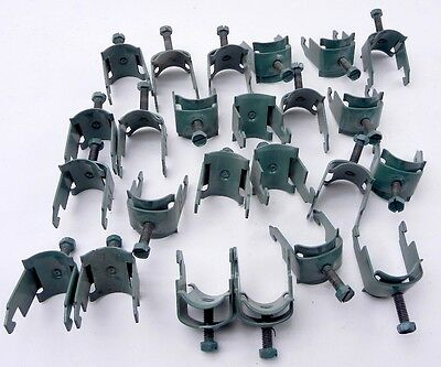 """Thomas & Betts Pipe Cable Clamp Hangers 1"""" (Lot of 24)"""