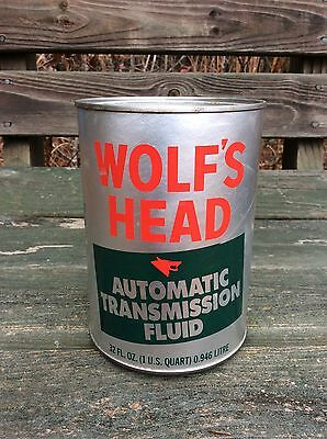 WOLF'S HEAD Automatic Transmission Fluid  Can - 1 quart - Gas & Oil