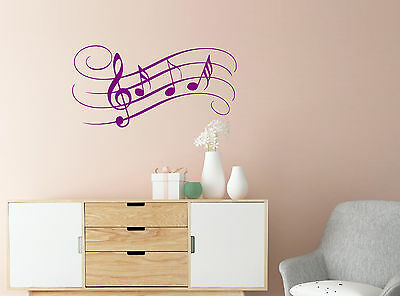 Music Of My Life Vinyl Wall Sticker Decal Living Room Office Kids Bedroom Decor
