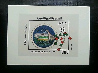 Syria, 1990, World Cup Itlay, Ms, SG 1765, MNH