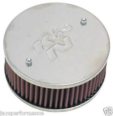 K&n Custom Air Filter Kit For Single & Twin Barrel Carbs 56-9156