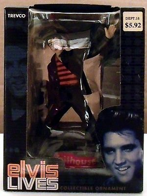 NEW - 2005 Elvis Presley Jailhouse Rock Trevco Elvis Lives Collectible Ornament