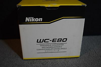 *NIKON* WC-E80 Wide Angle Converter Lens NEW for Coolpix $10 Fast Priority Ship!