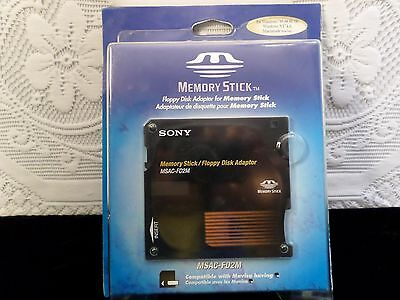 SONY Floppy Disk Adaptor for Memory Stick, Model MSAC-FD2M Converts Floppy to MS