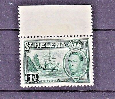 St. Helena 1938 SC #119 Superb Mint Never Hinged Top Margin single