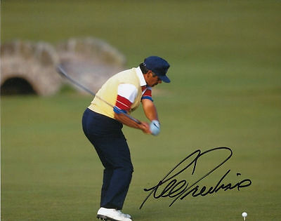 LEE TREVINO Hand-Signed / Autographed 8x10 Colored PGA GOLF Photo with COA