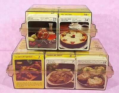 Vintage MY GREAT RECIPES Card Collection 3,400+ Recipe Cards Good Condition 1984