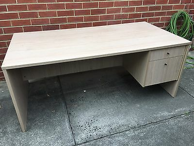 Office Work Storage Desk with drawer and filing cabinet drawer