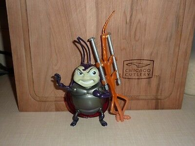 "A BUG'S LIFE - FRANCIS and SLIM - Toys - 6"" long - Pixar/Disney - McDonald's"