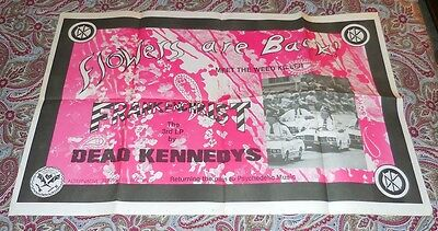 Dead Kennedy's - Frankenchrist Promo Poster! Rare! Hugh Patterson Benefit! Look!