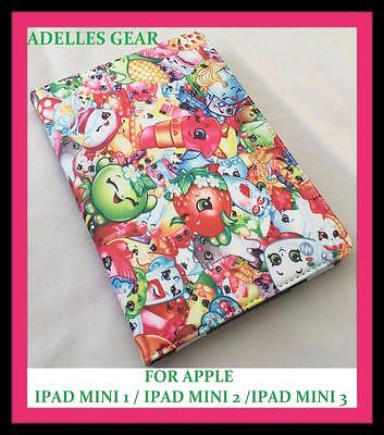 Shopkins  Ipad Mini 1 2 Or 3 Cover Case -Shopkins Pink